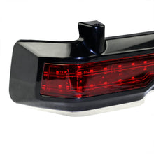 Load image into Gallery viewer, Black Motorbike ABS Red LED Rear Tail Brake Lights Motorcycle Running Light For Harley Touring Classic Ultra King Tour Pack