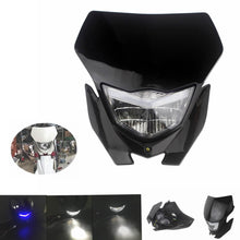 Load image into Gallery viewer, Black Motorcycle Dirtbike Headlight Fairing For Yamaha WR YZ 125 250 350 400 450 Honda