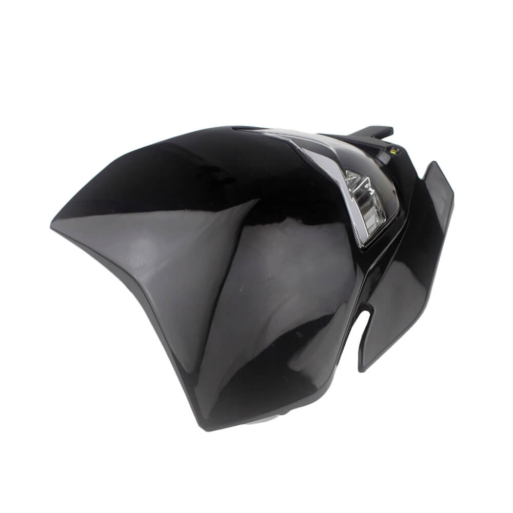 Black Motorcycle Dirtbike Headlight Fairing For Yamaha WR YZ 125 250 350 400 450 Honda