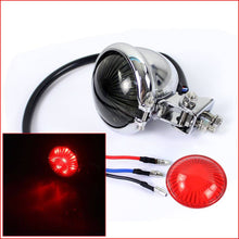 Load image into Gallery viewer, Custom Rear Brake Light Motorcycle LED Taillight for Harley Cafe Racer Scrambler