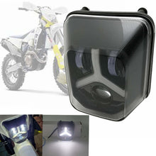 Load image into Gallery viewer, Dual Sport Enduro LED Front Running Headlight For Husqvarna TE FE 150 250 300 450 501 701 Supermoto HeadLamp