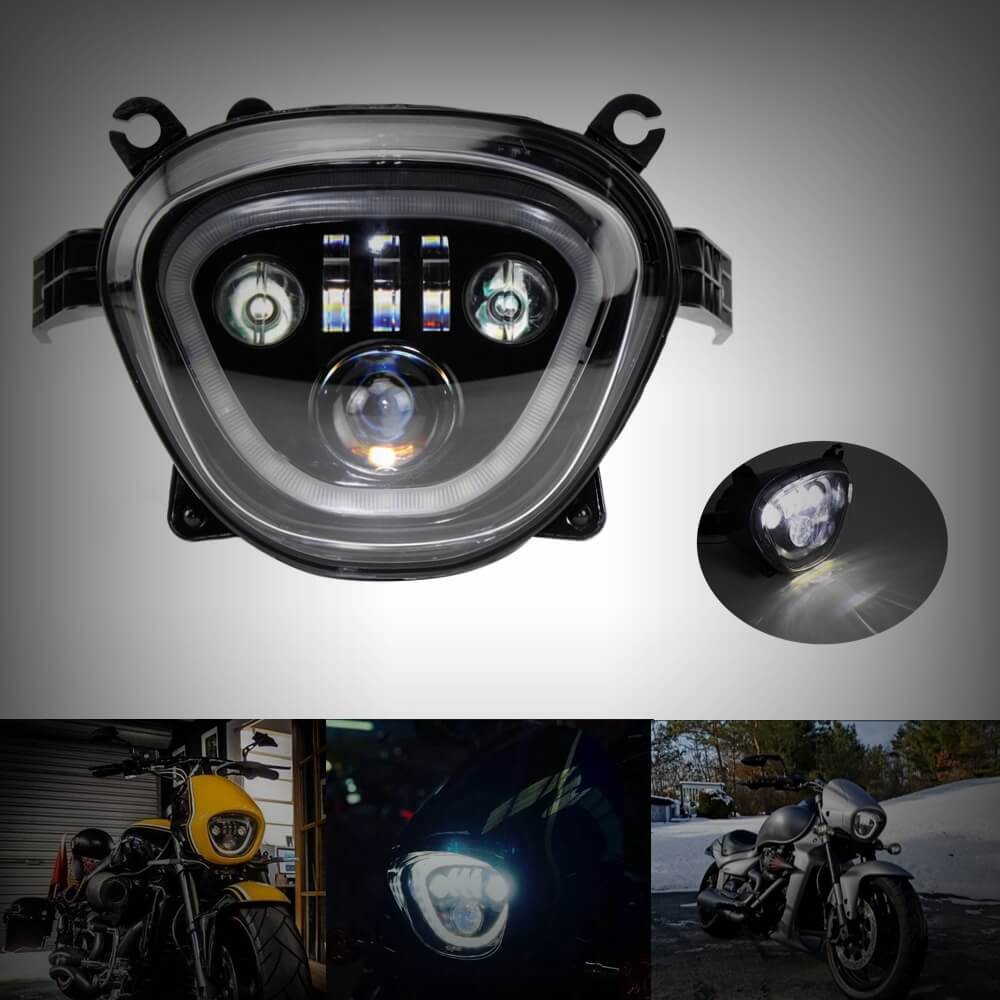 Headlamp Daylight Running Light DRL For Suzuki Boulevard M109R M109RB M109RZ Boss Limited VZR1800 VZR1800BZ VZR1800Z Intruder M90 VZ1500 C90 LED