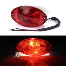Load image into Gallery viewer, Integrated  Motorcycle 12V Bulb  Taillight Brake Stop Light License Plate Light for Honda Yamaha Cafe Racer Touring
