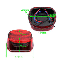 Load image into Gallery viewer, Integrated Motorcycle LED Stop Tail Light License Lamp For Harley Road King Heritage Classic Street Glide XL883R XLH883 XL1200L
