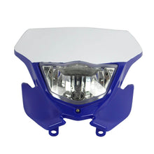 Load image into Gallery viewer, Motocross H4 35W Dirt Bike Headlight Head Lamp For Yamaha YZ125 YZ250F WR250 WR450F TTR250 EXC SX