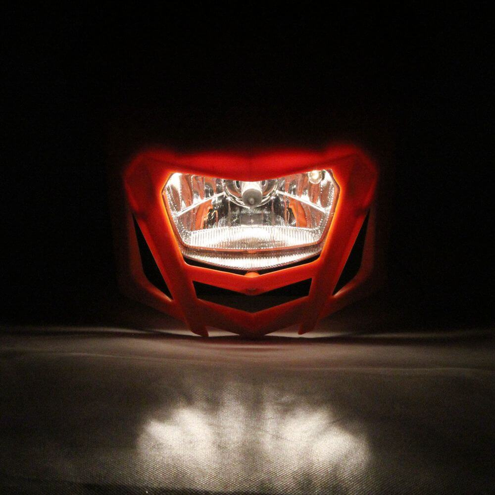 Motocross Dirt Bike Racing Enduro  Off-Road Headlamp for Kawasaki KLX 150 Yamaha WR250