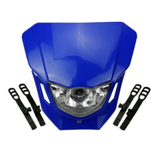Load image into Gallery viewer, Motocross Headlight Fairing For Yamaha XT WR YZ TTR WRF 125/230/250 Supermoto Universal