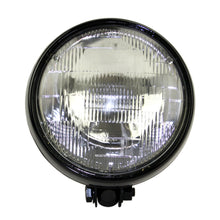 "Load image into Gallery viewer, Motorcycle  5-3/4"" Retro Yellow Headlight 5.75 inch Sealed Beam Lamp For Triumph Scrambler Bobber Harley Chopper"