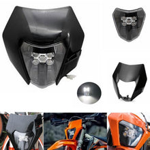 Load image into Gallery viewer, NEW LED Headlight Dual Sport Headlamp With Shell For KTM 200 300 350 500 XC-W SIX DAYS EXC-F EXC 79614901000 2014-2020