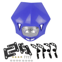 Load image into Gallery viewer, Suppermoto Enduro MX Dual Sport Head Light Universal Head Lamp for Suzuki Yamaha YZ85 YZ125 YZ250 YZ450 WR250 WR450 F FX TTR TT-R 230