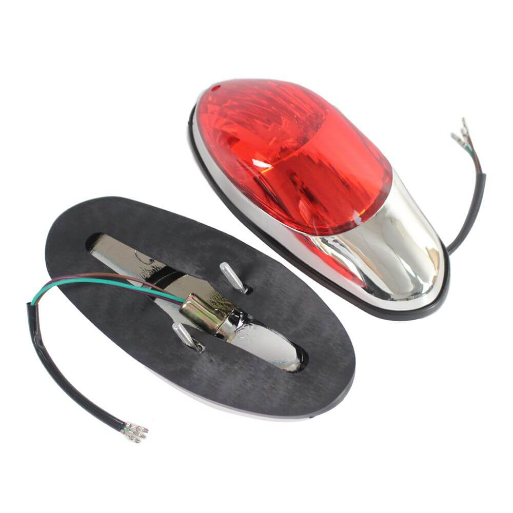 Tail Light Motorcycle Rear Stop Red Light Lamp For Yamaha Suzuki Honda Kawasaki Vulcan 900