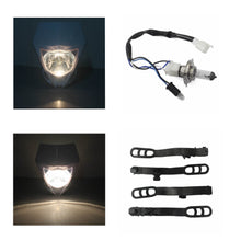 Load image into Gallery viewer, Universal  Motorcycle 35W Headlight For Yamaha WR250F YZ85 YZ125 YZ250  Kawasaki