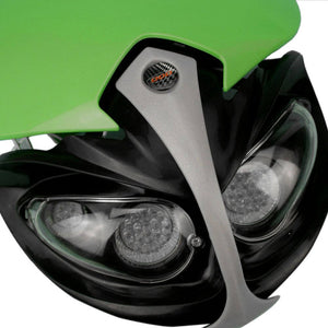 Universal Motorcycle Headlight LED For CRF50F CRF70F CRF80F CRF100F CRF150F Dirt Bike Headlight Fairing