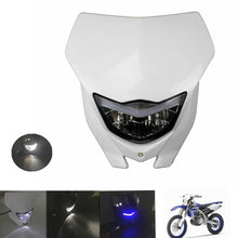 Load image into Gallery viewer, White Color  Supermoto Dirt Bike Headlight Fairing For Yamaha WR450F WR250F YZ YZF TTR DR RM