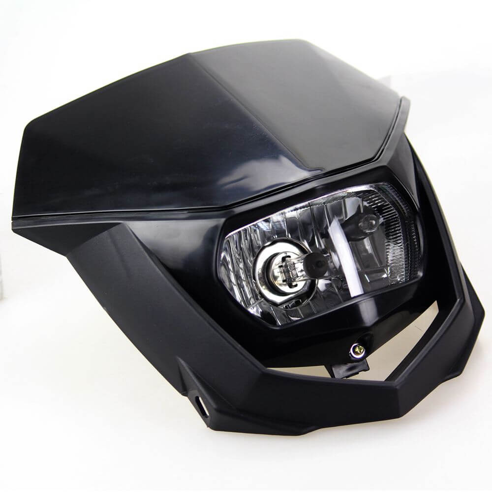 Universal Fit 12V 35W Motorcycle Headlamp For Yamaha Suzuki Kawasaki Honda CRF WRF DR YZ