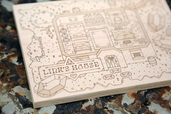 Woodlands Mini: Link's House