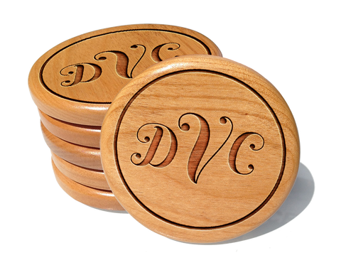 Monogram Coaster Set