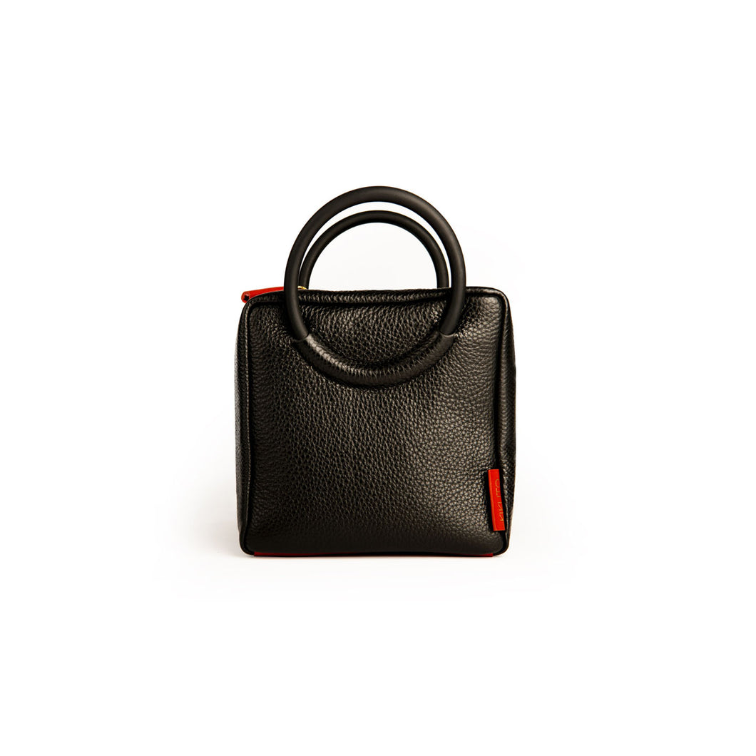Shokupan medium leather bag