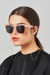 Dotty gold-plated glasses chain