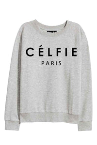 CELFIE Grey Sweatshirt
