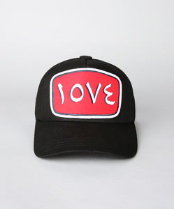 LOVE MESH TRUCKER CAP