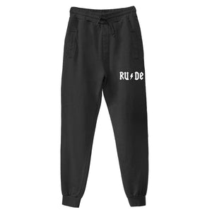 Black Joggers Ladies
