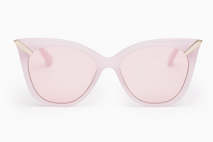 Soffy acetate cat-eye sunglasses