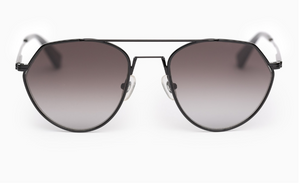 Dana black aviator sunglasses