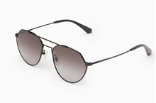 Load image into Gallery viewer, Dana black aviator sunglasses