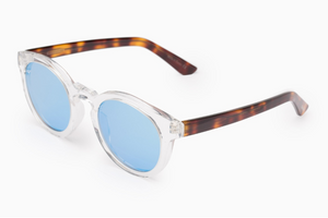 Lab 09 blue & havana acetate sunglasses