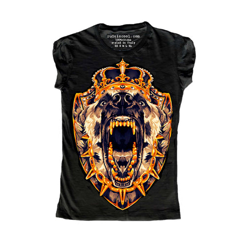 Dog King T-Shirt Women