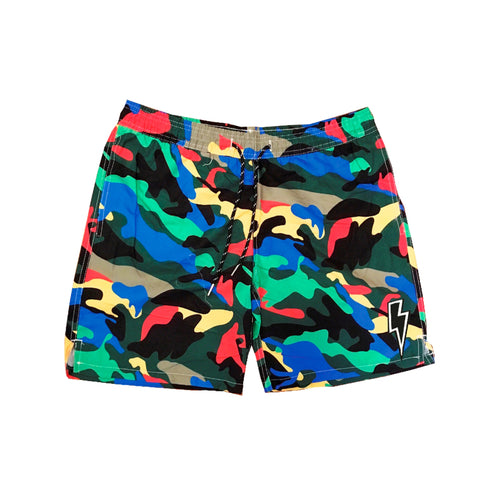 Swim Shorts Camo Green