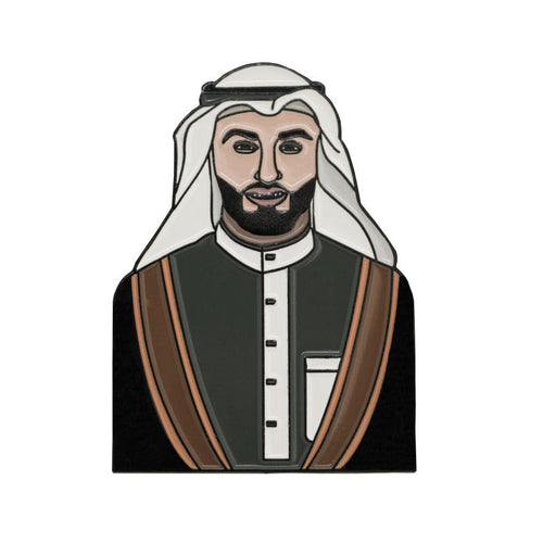 ARABIAN PRINCE PIN