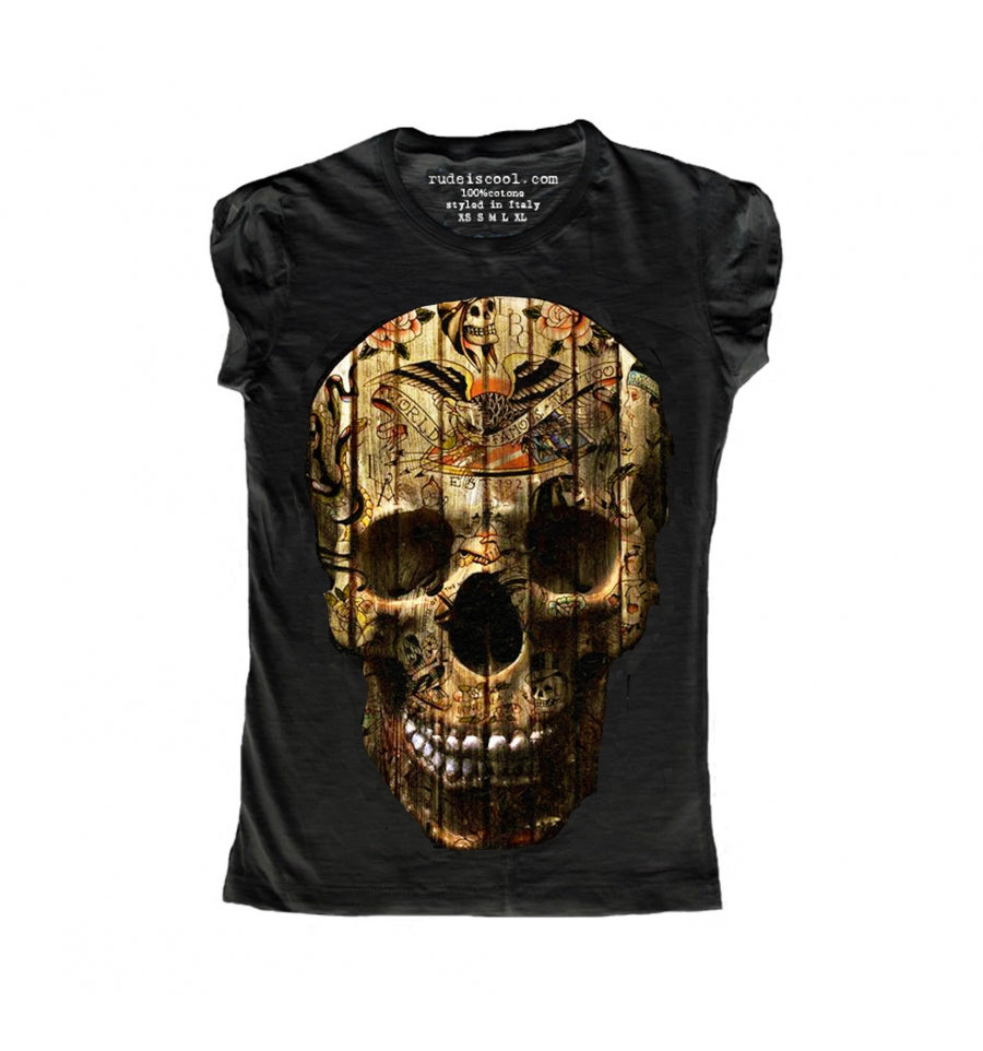 Old Skull T-Shirt Women