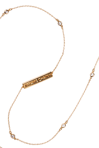 Shine Bright gold-plated glasses chain