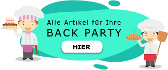 Back Motto Party am Kindergeburtstag