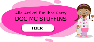 Doc Mc Stuffins Motto Party am Kindergeburtstag