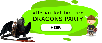 Dragons Motto Party am Kindergeburtstag