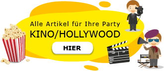 Kino Film Hollywood Party am Kindergeburtstag