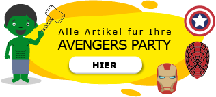 Avengers Marvel Superhelden Motto Party am Kindergeburtstag