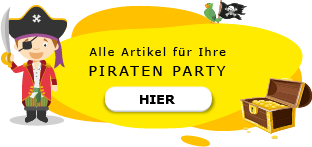 Piraten Motto Party am Kindergeburtstag