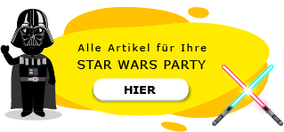 Star Wars Motto Party am Kindergeburtstag Darth Vader Stormtrooper Jedi Ritter
