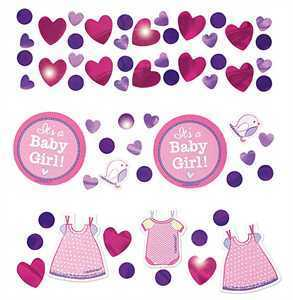 Konfetti Set Babyshower It's a Girl, 34 gr