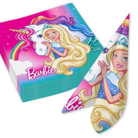 Servietten, Barbie - Dreamtopia, 20 Stk