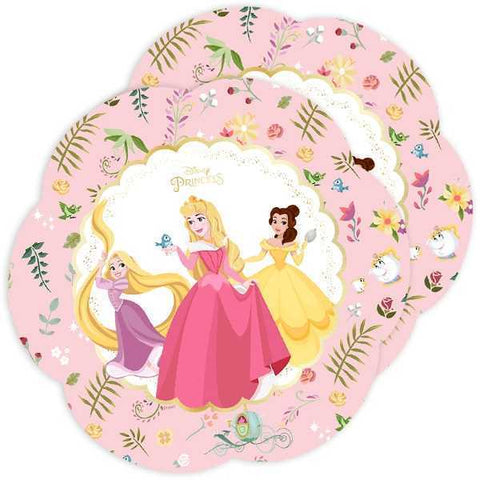 Party Platte Disney Prinzessinnen, 4 Stk., 26 cm
