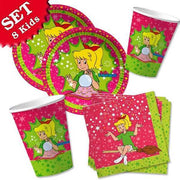 Party Set Basic Bibi Blocksberg, für 8 Kinder, 36-tlg