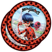 Party Set Basic Miraculous, Ladybug, 8 Kids, 52-tlg