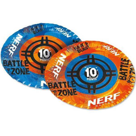 Party Teller, Nerf, 6er Pack, Pappe, 23cm