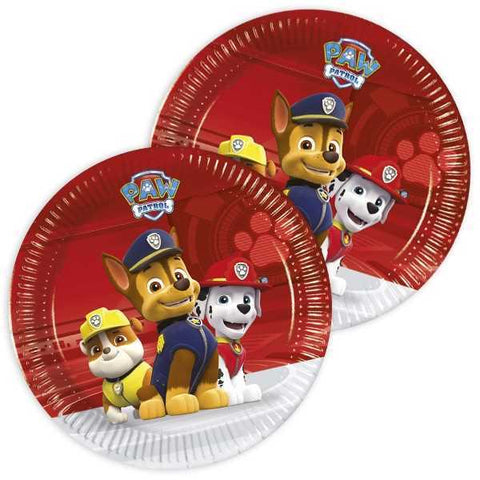 Party Set Basic Paw Patrol 2019, 8 Kids, 52-tlg
