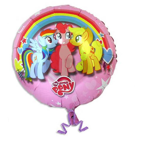 Folienballon, My Little Pony, 35 cm, Party Deko Motto-Party am Kindergeburtstag, Geburtstag